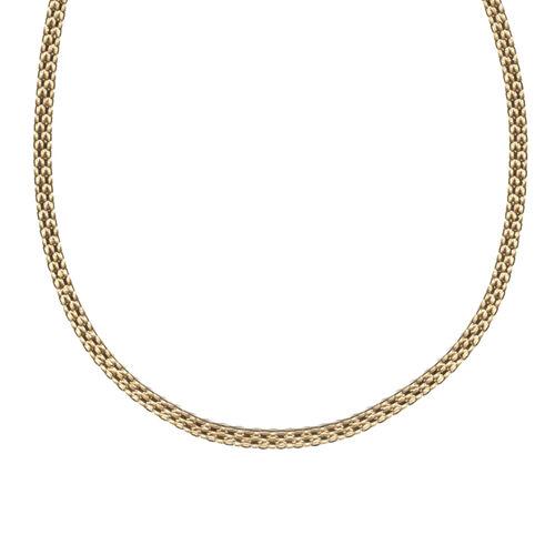 Bismark Necklace in 9K Gold 17.5 Inch