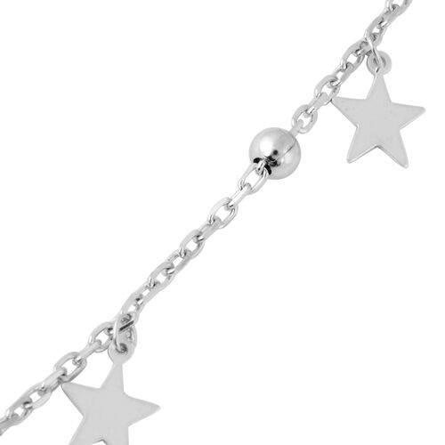 Sterling Silver Necklace (Size 16.5 with 2 inch Extender), Silver wt 4.03 Gms