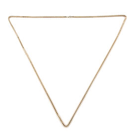 Royal Bali Collection 9K Yellow Gold Spiga Necklace (Size 36), Gold wt 15.54 Gms