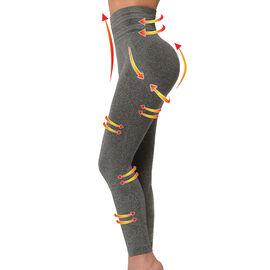 SANKOM Patent Yoga Leggings Colour Grey Melange
