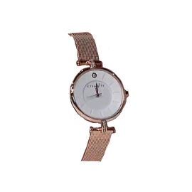 ETERNITY Swarovski Studded Ladies Watch with Rose Gold Tone Strap
