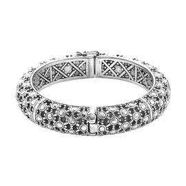 Royal Bali Collection Bangle in Sterling Silver 87.13 Grams 7.5 Inch