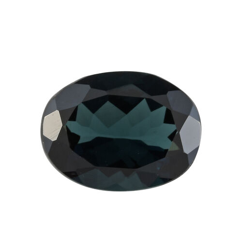 AA Indicolite Oval 8.61x6.41x3.58 Faceted 1.35 Cts