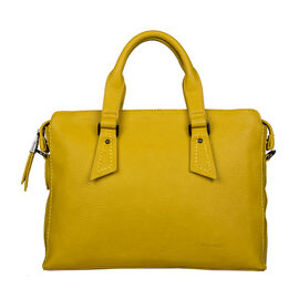 Bulaggi Collection Deb Laptop Bag in Dark Yellow