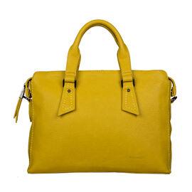 Bulaggi Collection Deb Laptop Bag in Dark Yellow