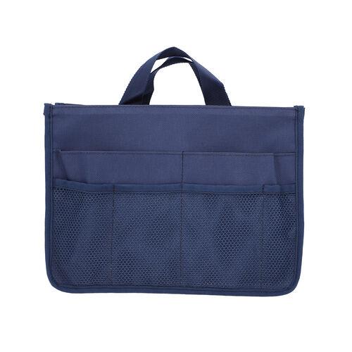 100% Waterproof Organiser Bag (Size 29x9x20cm) - Navy Blue