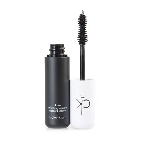 CK One: Volumizing Mascara (Brown) - 12ml (With Eye Makeup Remover - 125ml)