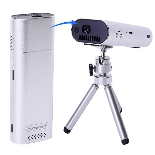 Monster Deal - Homesmart K4H Mini Portable Projector - Silver