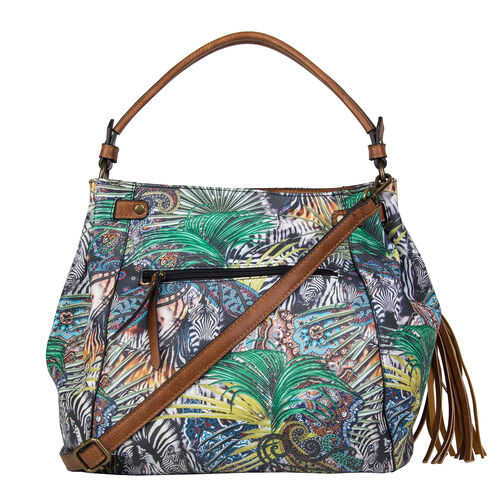 Bulaggi Collection - Jungle Shopping Bag (Size 28x30x17 Cm) - Multi