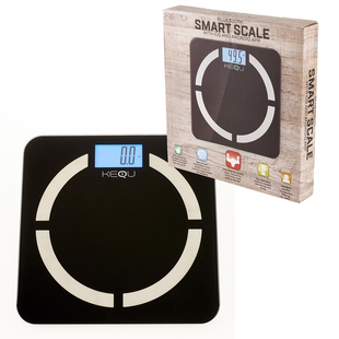 KeQu: Bluetooth Smart Scale (With IOS & Android App) (Size 30x30cm)