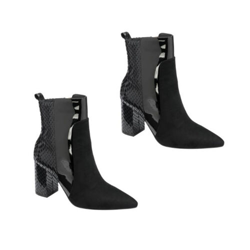 Ravel Sagua Ankle Boots (Size 3) - Black