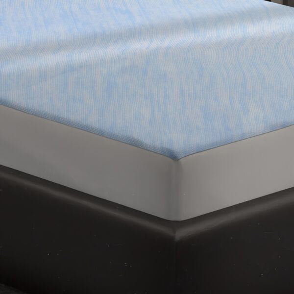 SERENITY NIGHT Smartkool Jersey Cooling Waterproof Fitted Mattress Protector Double Size (135x190)