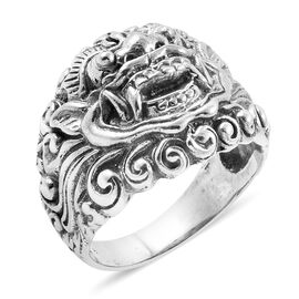 Royal Bali Collection - Sterling Silver Ring, Silver wt 10.50 Gms