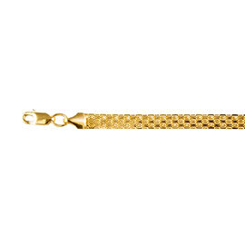 Monster Deal- 9K Yellow Gold Bracelet (Size 8.5) with Lobster Clasp, Gold wt 2.28 Gms
