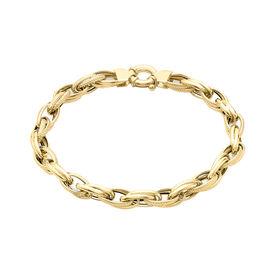 9K Yellow Gold Link Bracelet (Size 7.5), Gold wt 5.90 Gms