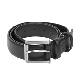 William Hunt - Leather Reversible Belt (size 36 inches) - Black