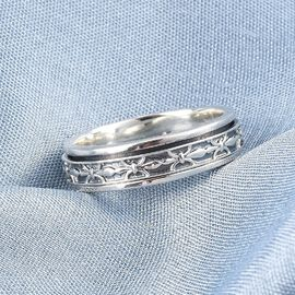 MP - Artisan Crafted Sterling Silver Band Ring