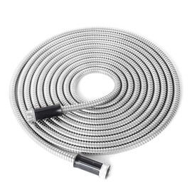 Stainless Steel Garden Hose Metal Water Hose Super Tough and Flexible, and Lightweight with Premium Connectors