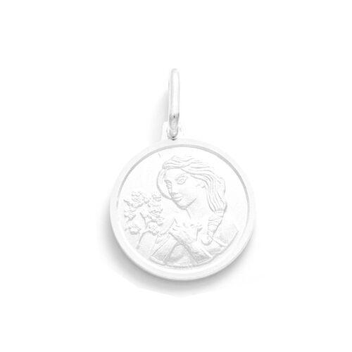 Viale Argento Sterling Silver Virgo Pendant