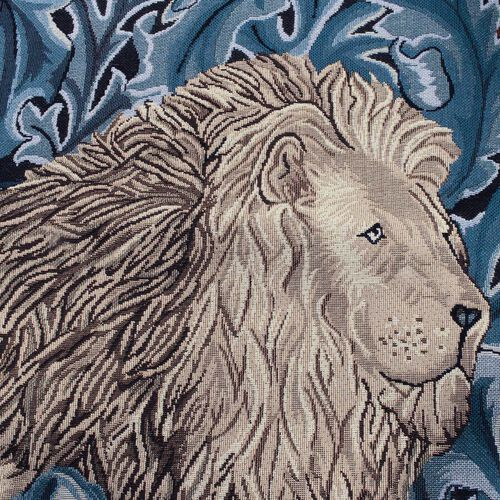 Signare Tapestry- William Morris Lion and the Forest Wall Hanging (Size 139x87 Cm)