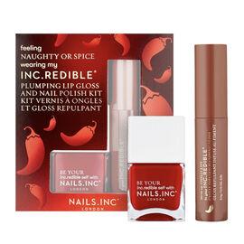 Nails Inc: Chilli Lips & Nail Polish - 14ML/3.4G