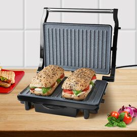 Marble Coated Health Grill & Panini Press - 1500W (Size 30x26cm)
