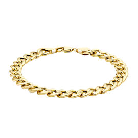 Chain Bracelet in 9K Yellow Gold 8 Inch