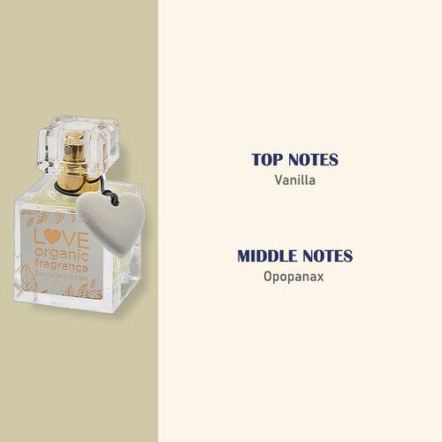 Love Organics: Vanilla & Opopanax Eau De Parfum - 30ml