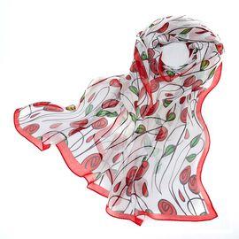 Signare Tapestry Silk William Morris Golden Scarves - Rose