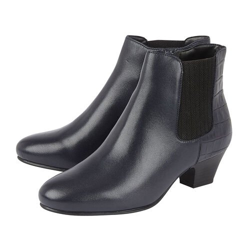 Lotus VICTORIA  Ankle Boots (Size 6) - Navy