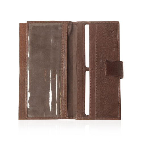Close Out Deal Genuine Leather Brown Colour Wallet