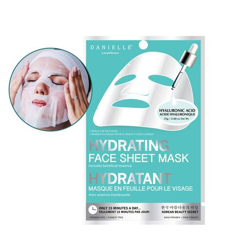 Danielle - 5 Pack Hydrating Sheet Mask