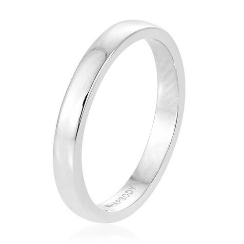 RHAPSODY 950 Platinum High Finish Band Ring, Platinum Wt 4.13 Gms.