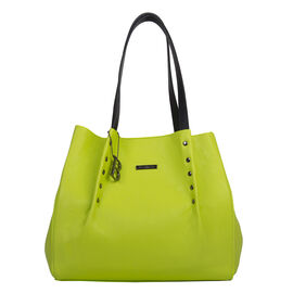Bulaggi Collection - Joan Shopping Bag in Lime (Size 33x29x14 Cm)