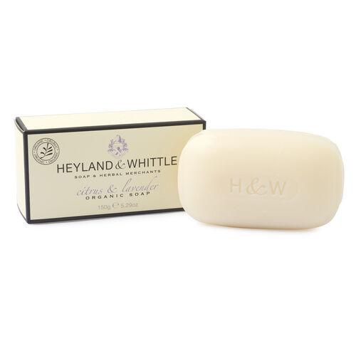 Heyland & Whittle: Citrus & Lavender Body Scrub, Organic Bar & Body Lotion