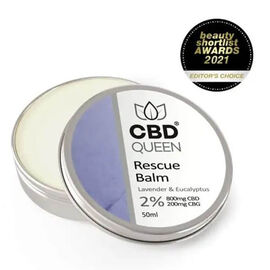 CBD Queen: Rescue Balm (Lavender & Eucalyptus) - 50ml