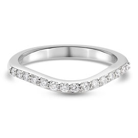 RHAPSODY 950 Platinum IGI Certified Diamond (VS/E-F) Ring 0.20 Ct.