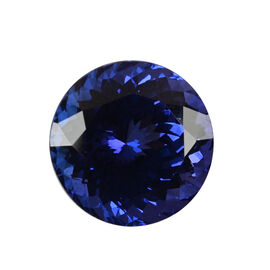 AAAA Tanzanite Round 13.00X8.86 Faceted 10.06 Ct.