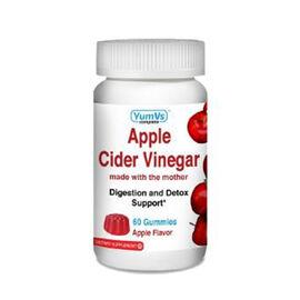 YumVs: Zinc with Vitamin C & Echinacea & Rose Hips Gummies - Orange Flavor (60 gummies)