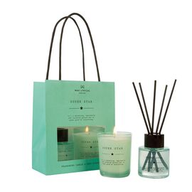 Wax Lyrical England - BagSuper Star Scented Candle and Reed Diffuser Gift Bag