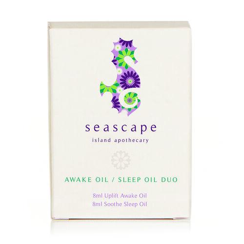 SEASCAPE- Awake Oil & Sleep Oil Duo Gift Set