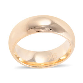 Premium Collection - Royal Bali Collection 9K Yellow Gold High Polish Band Ring