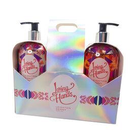 Leighton Denny: Loving Hands Duo (Supersize Handwash - 500ml & Supersize Hand Lotion - 500ml)