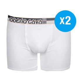 Roberto Cavalli Mens 2 - pack Boxer Shorts - Size S (28 - 30)