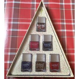 Nails Inc: Christmas Tree Triangle Set