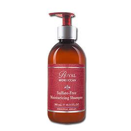 Royal Moroccan: Sulfate Free Moisturizing Shampoo - 300ml