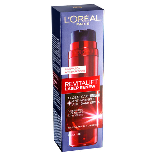 LOreal: Revitalift Laser Renew Day Cream SPF25 - 50ml