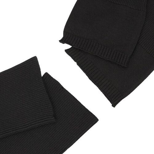 Set of 2 - Elbow Sleeves (Size 33x12 Cm) - Black