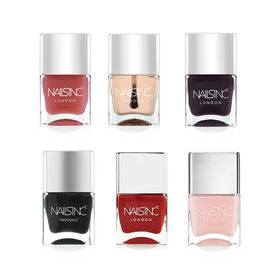 Nails Inc: Essentials Collection (Incl Kensington Caviar Top Coat, Kensington Caviar Base Coat, Brut