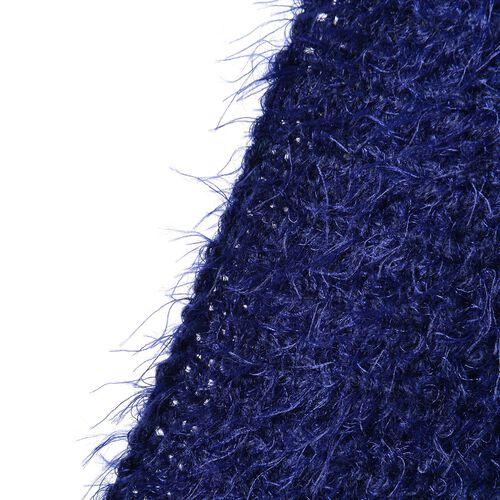 New Season - Italian Designer Inspired Navy Colour Kimono (Size 108x48 Cm)